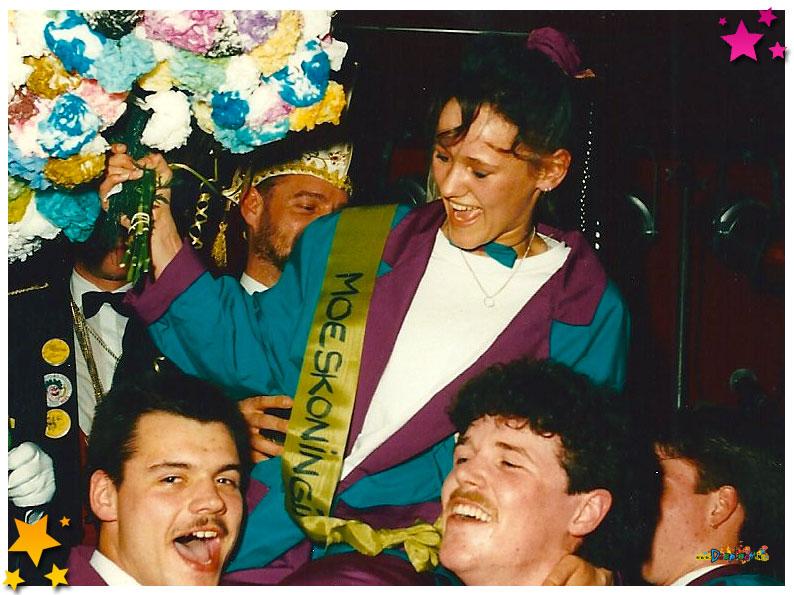 Moeskoningin 1990 - Schaijk