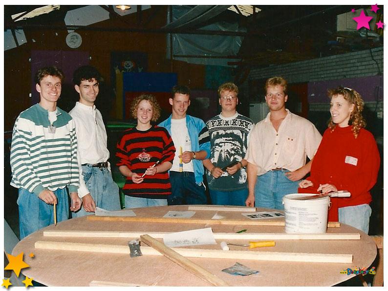 Commissie aankleding drie kerrus elf 1991 Schaijk