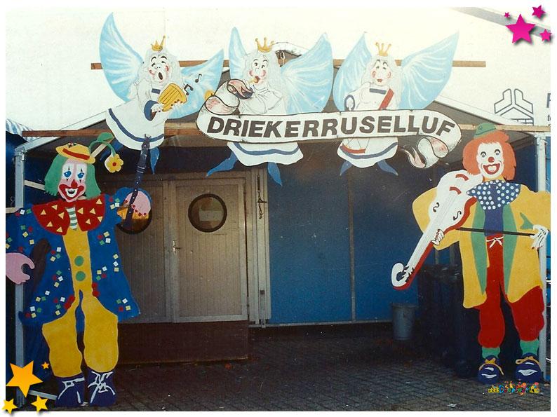 Binnenkomst feesttent - 1991 Schaijk