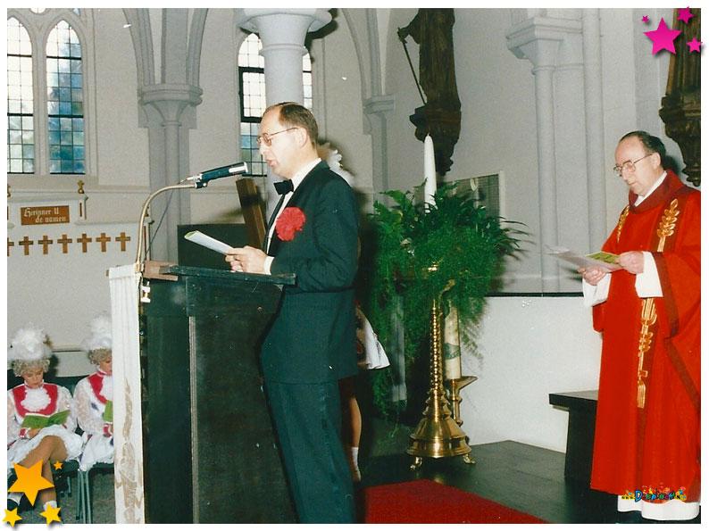 Heilige mis 33 jaar Moesland - 1991 Schaijk
