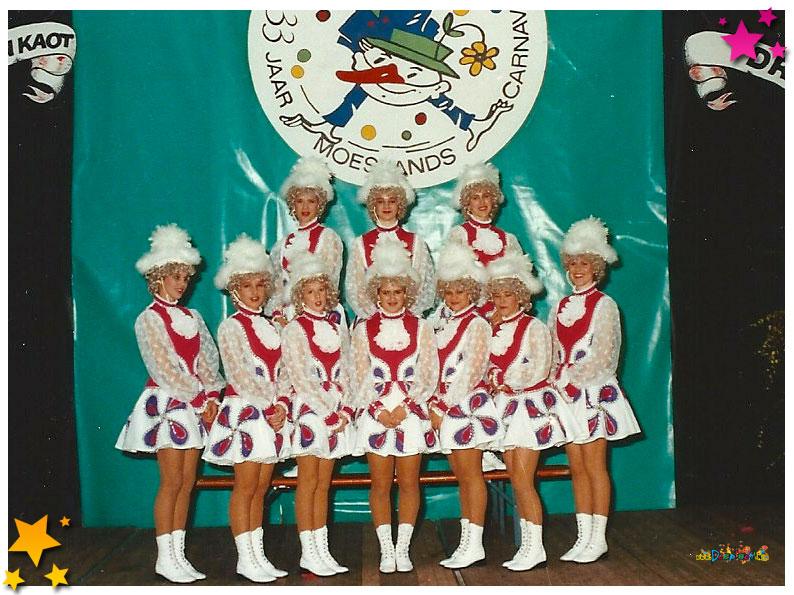 Dansgarde 33 jaar Moesland - 1991 Schaijk