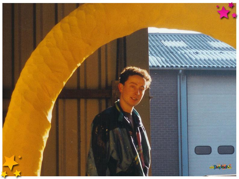 Marco van Boekel lid van Klore Kwats