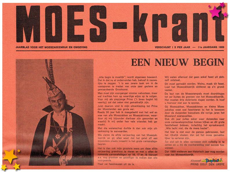 Carnavalskranten Schaijk - 1969