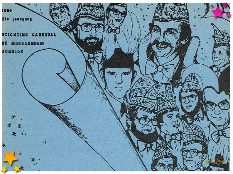 Carnavalskranten Schaijk - 1980