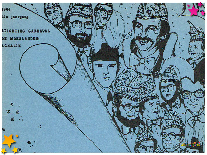 Carnavalskrant Schaijk - 1980
