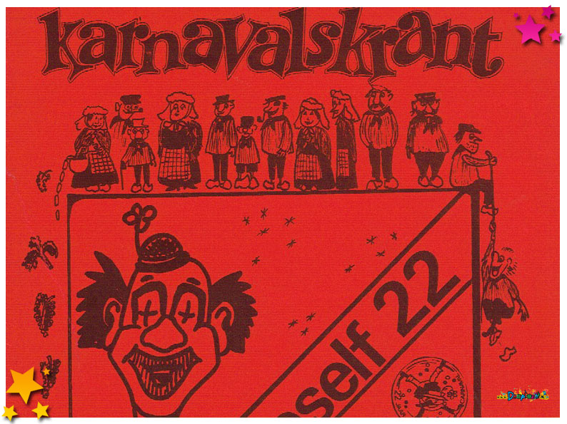 Carnavalskranten Schaijk - 1981