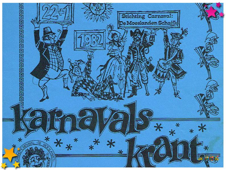 Carnavalskranten Schaijk - 1982