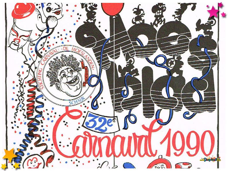Carnavalskranten Schaijk - 1990
