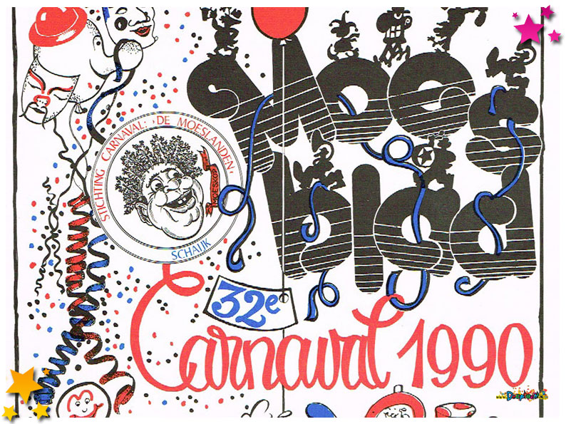Carnavalskrant Schaijk - 1990