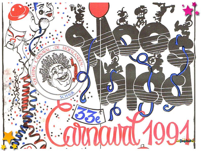 Carnavalskranten Schaijk - 1991