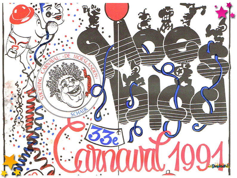 Carnavalskrant Schaijk - 1991