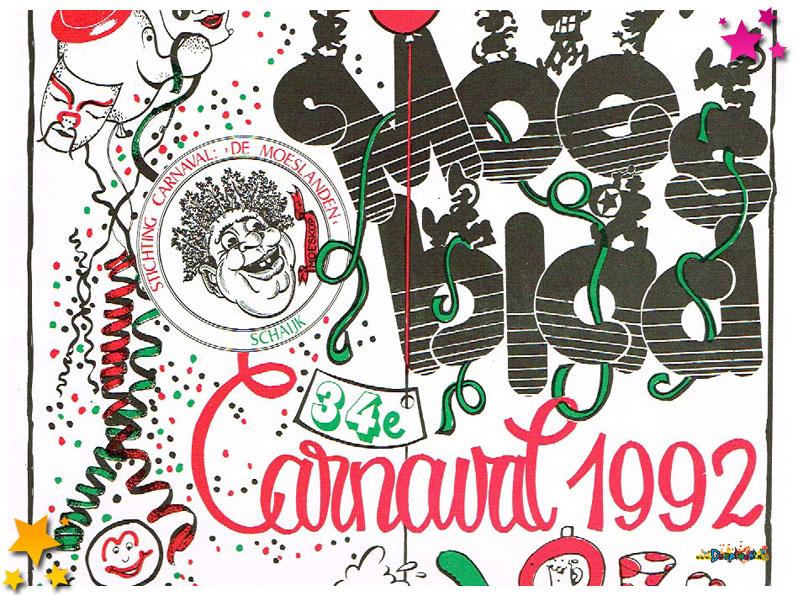 Carnavalskranten Schaijk - 1992