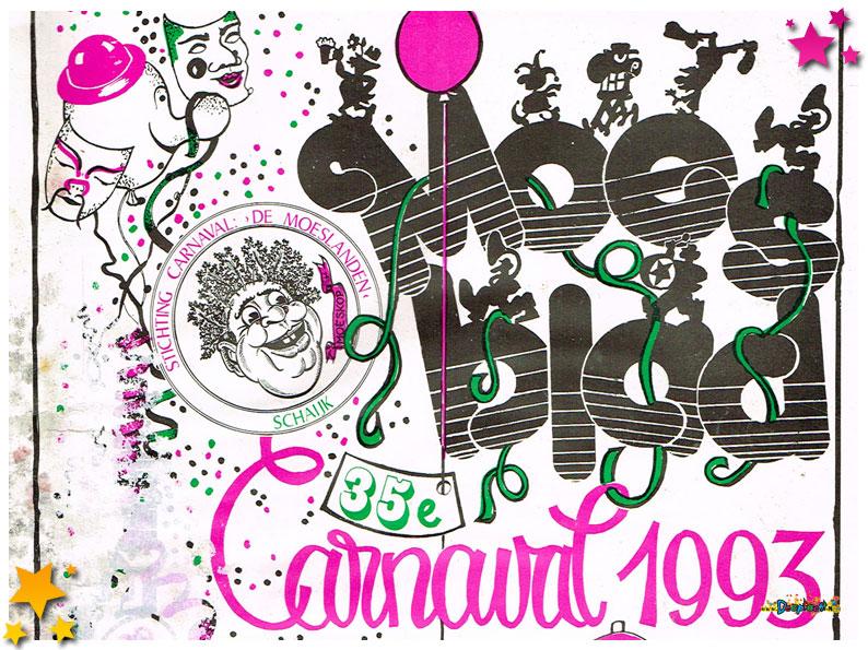Carnavalskranten Schaijk - 1993