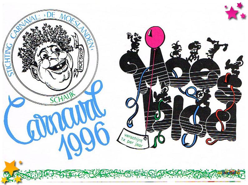 Carnavalskranten Schaijk - 1996