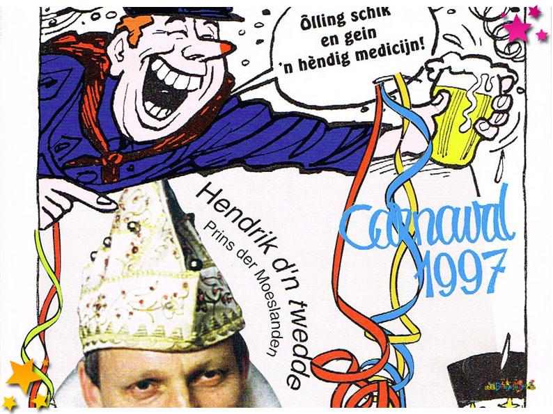Carnavalskranten Schaijk - 1997