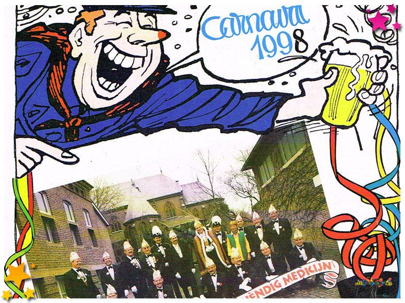 Carnavalskranten Schaijk - 1998