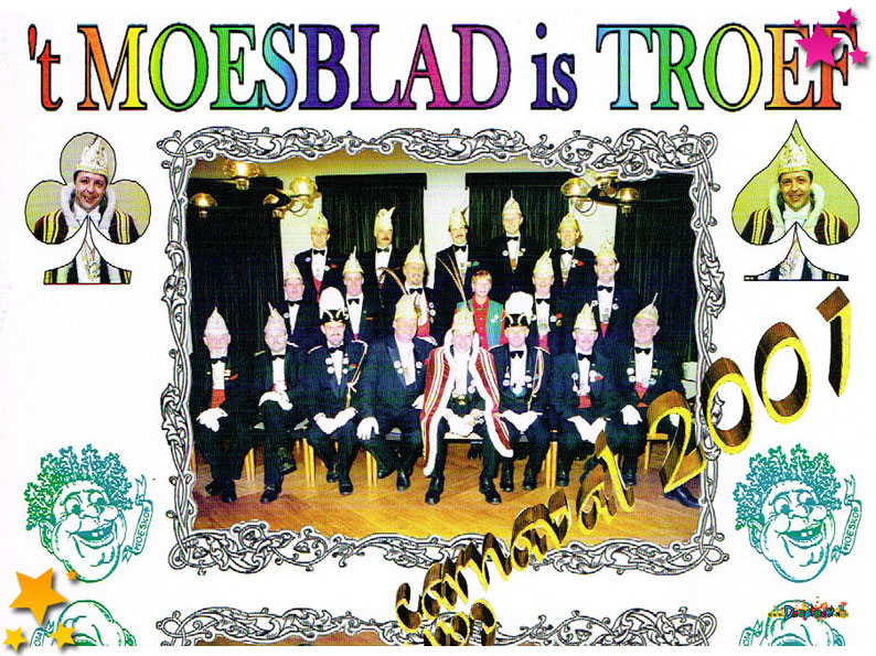 Carnavalskrant Schaijk - 2001