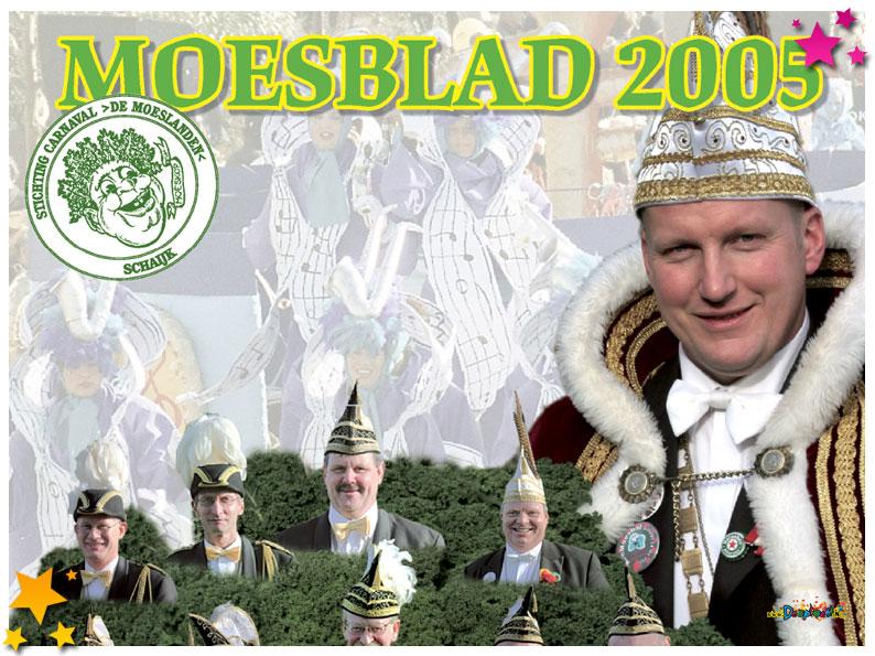 Carnavalskrant Schaijk - 2005