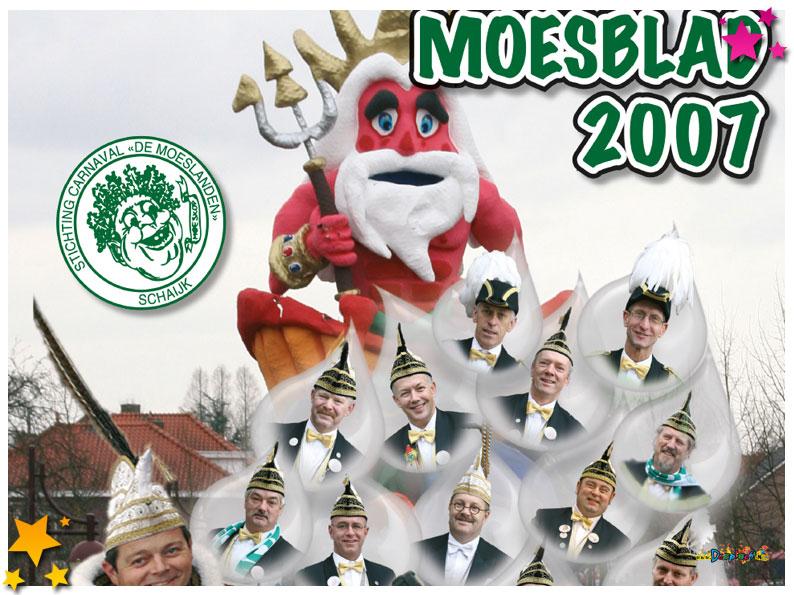Carnavalskrant Schaijk - 2007
