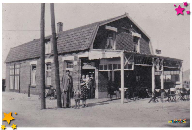 Café aan de Rijskweg in Schaijk