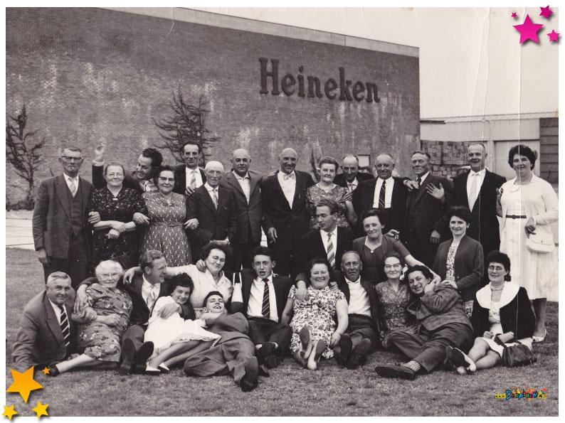 Bij Heineken op bezoek