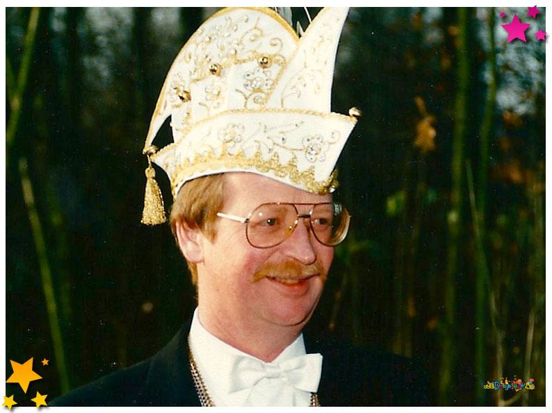 Oud-voorzitter Henk van Ras