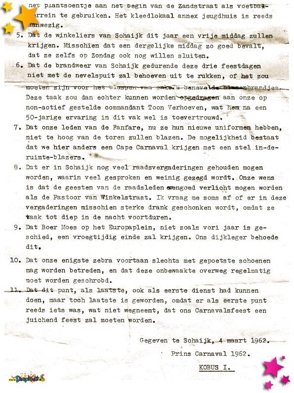 Proclamatie Jacques Boutens