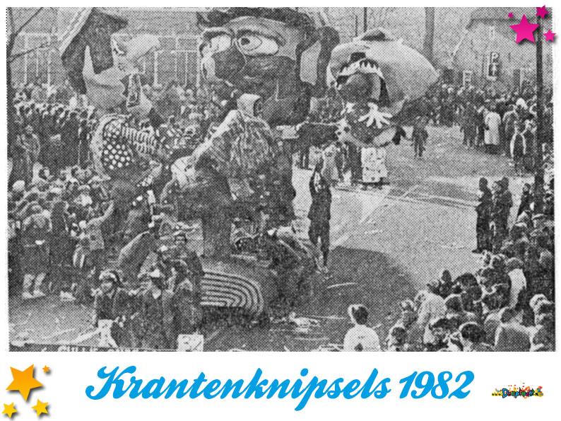 Krantenknipsels Moesland 1982