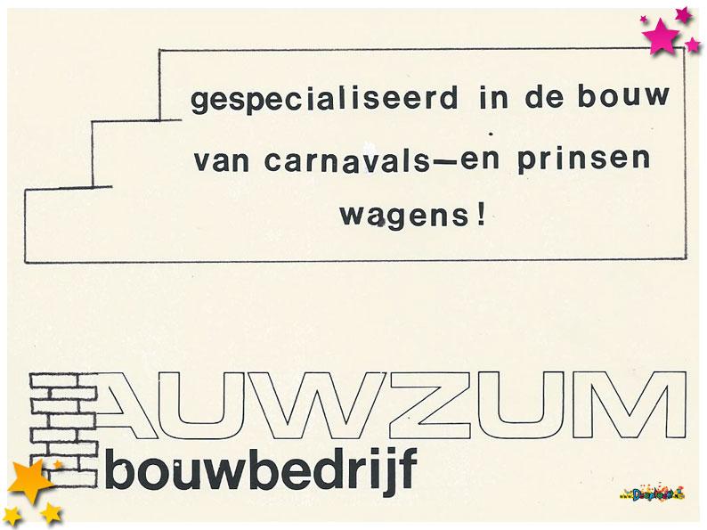 Auwzum optocht 1985