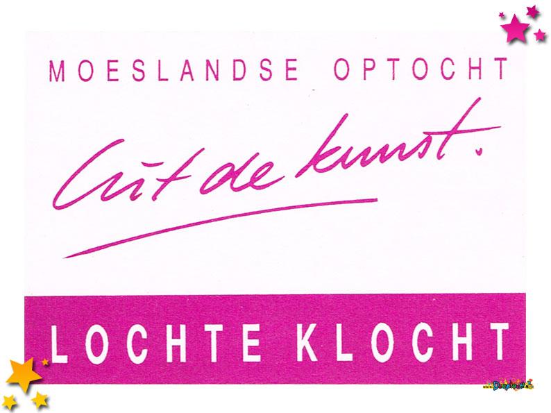 Stickers van Lochte Klocht - 1993