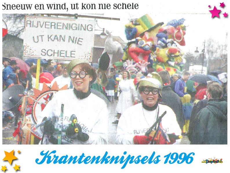 Krantenknipsels Moesland 1996