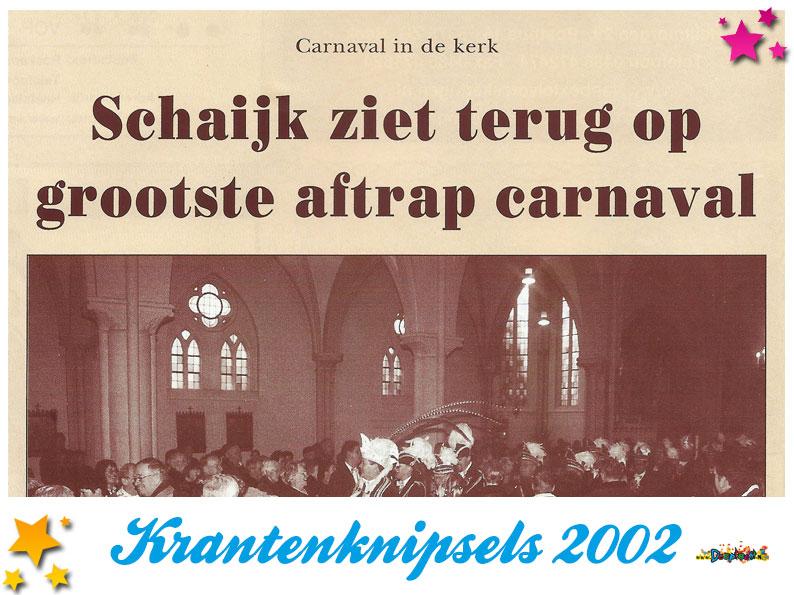 Krantenknipsels Moesland 2002