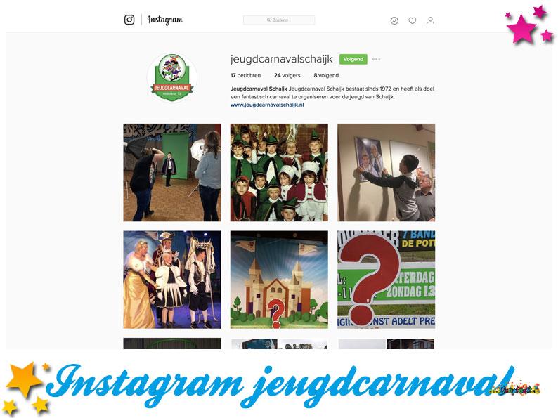 Instagram Jeugdcarnaval Schaijk
