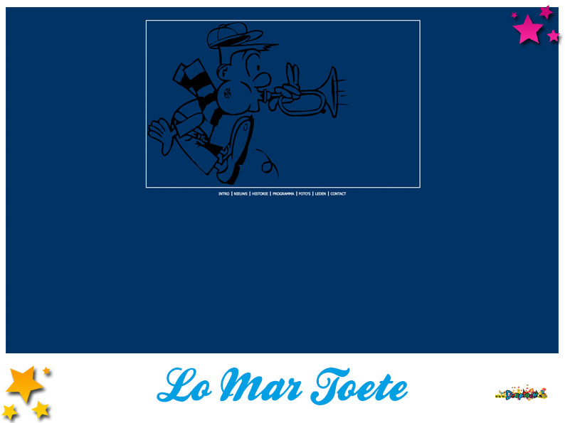 Website Carnavalsvereniging Lo Mar Toete