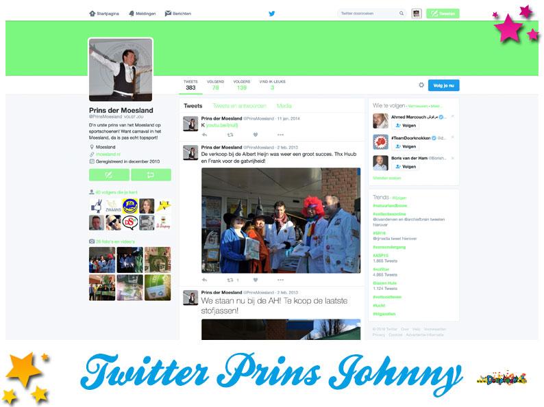 Twitter Prins der Moeslanden