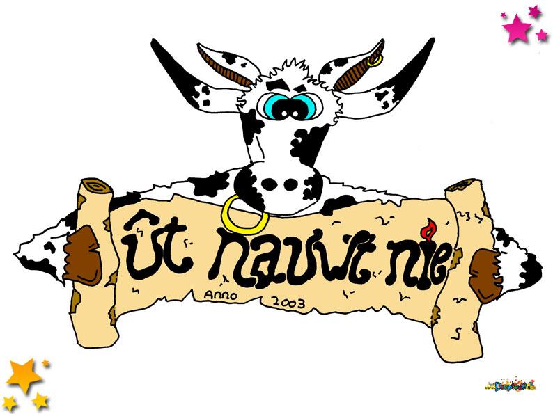 Logo Carnavalsvereniging Ut Nauwt Nie Schaijk