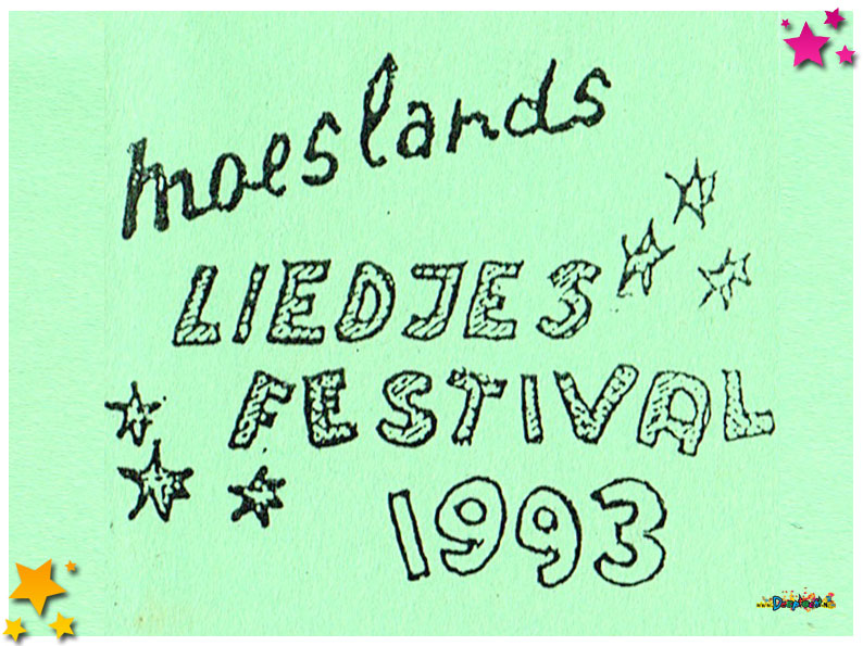 Liedjesfestival Schaijk - 1993