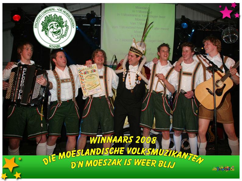Die Moesländer Volksmuzikanter - Den Moeszak is weer blij - 2008