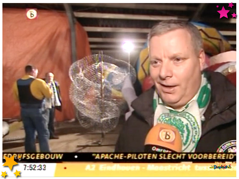 Carnavals'grap' van Stichting carnaval de Moeslanden', Moesland  op Omroep Brabant - 2009