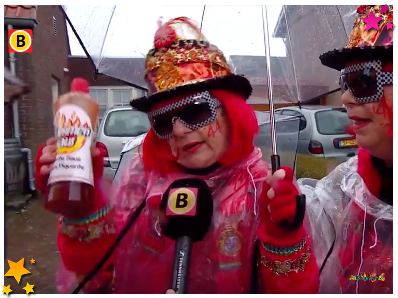 Optocht Schaijk Omroep Brabant Nieuws', Moesland  op Omroep Brabant  - 2016