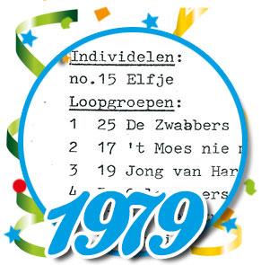 Uitslag optocht 1979 Schaijk