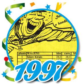 Uitslag optocht 1997 Schaijk
