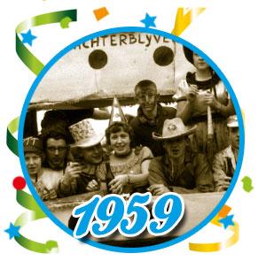 Carnavalsoptocht Schaijk - 1959