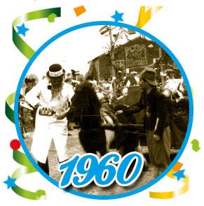 Carnavalsoptocht Schaijk - 1960