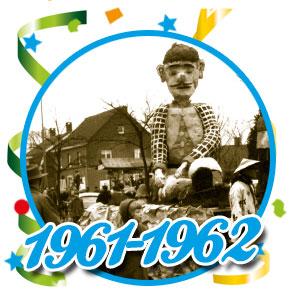 Carnavalsoptocht Schaijk - 1961 - 1962
