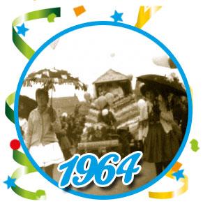 Carnavalsoptocht Schaijk - 1964
