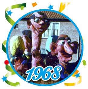 Carnavalsoptocht Schaijk - 1968