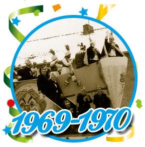 Carnavalsoptocht Schaijk - 1969-1970