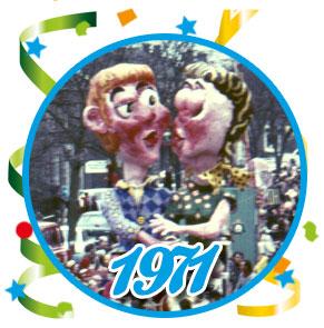 Carnavalsoptocht Schaijk - 1971