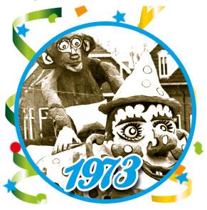 Carnavalsoptocht Schaijk - 1973